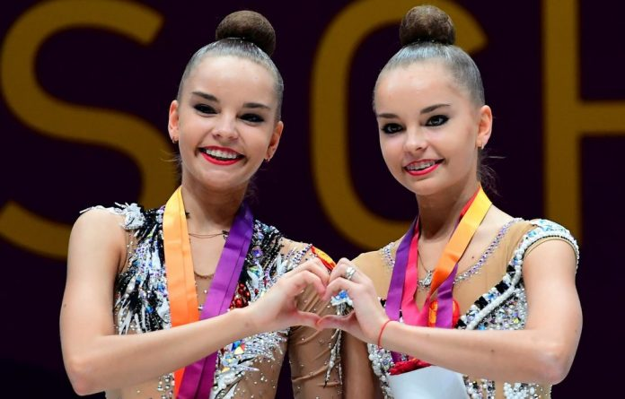 The 20-year-old Averina sisters have now won a remarkable 18 major championship gold medals between them in only two years.
