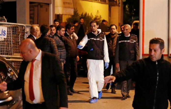 Turkish police forensic experts have reportedly found 'important' evidence in their investigation.