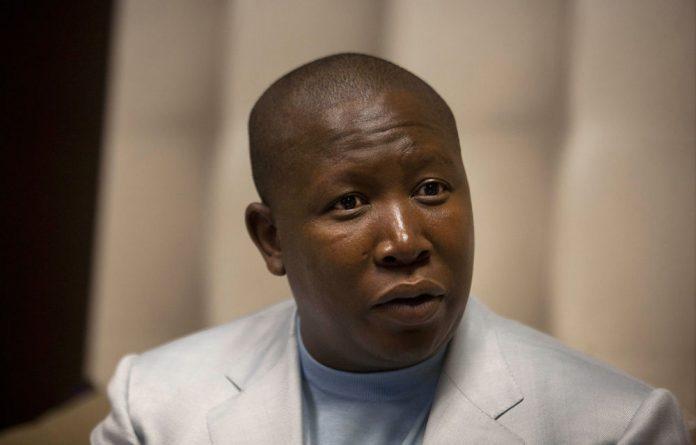 Julius Malema.