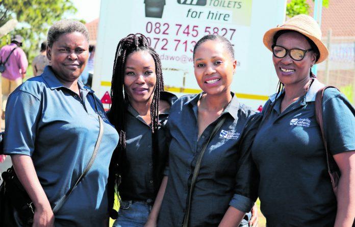 The women from Impilo Yabantu social franchise