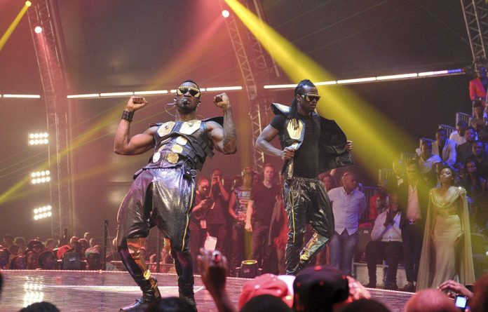 Nigerian R&B duo P-Square.