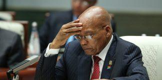 Former president Jacob Zuma filed a 300-page affidavit