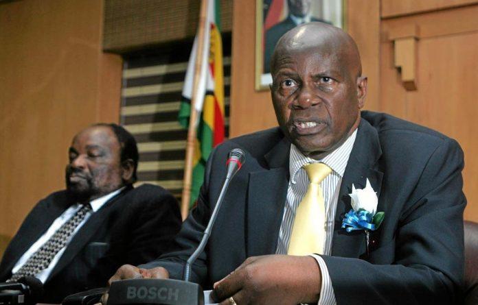 Zimbabwe's Finance Minister Patrick Chinamasa