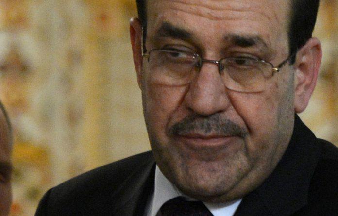 Iraqi Prime Minister Nuri al-Maliki.