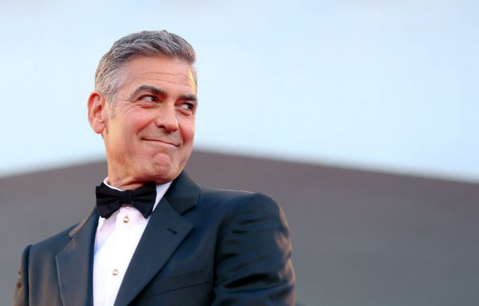 Actor and activist George Clooney.