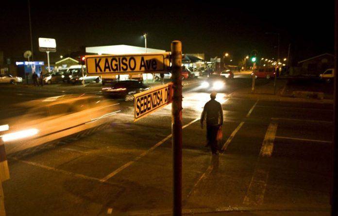 The corner in Kagiso that had all the news.