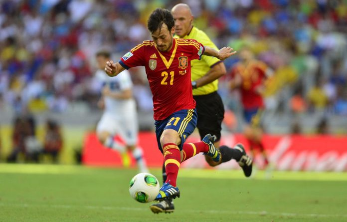 Spanish player David Silva