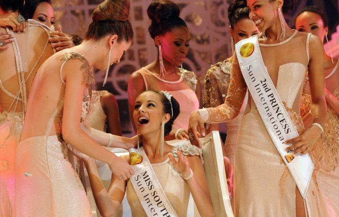 Miss South Africa 2012 Marilyn Ramos.