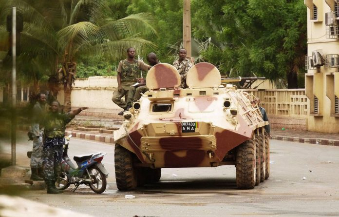 Mali's military junta troops carried out a coup in March.