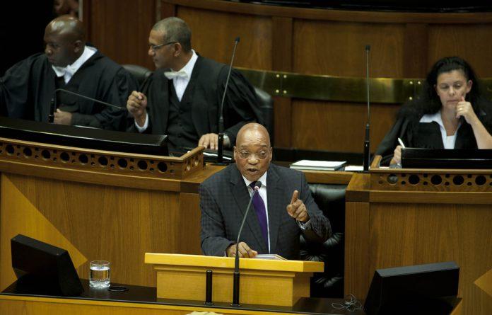 President Jacob Zuma said he wanted to
