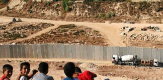 The infamous wall of separation in Israel has been condemned by the International Court of Justice.