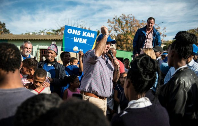 The DA's relationship with its most significant coalition partner is in tatters