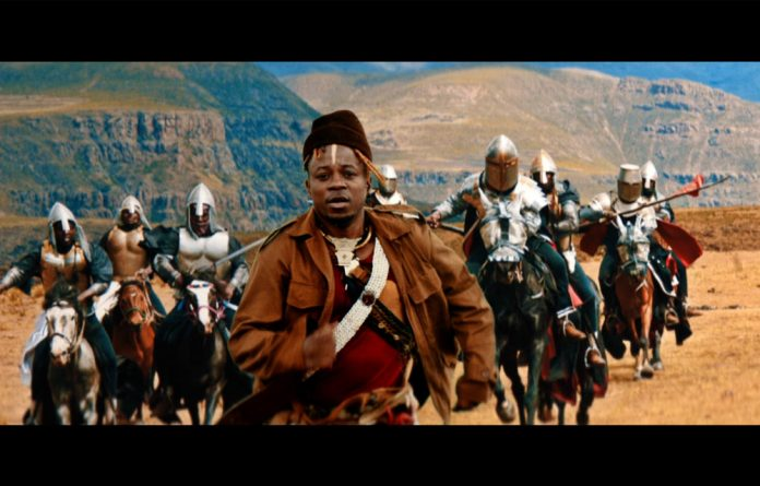 Freedom fighter: Video stills are from Blick Bassy's single 'Ngwa'