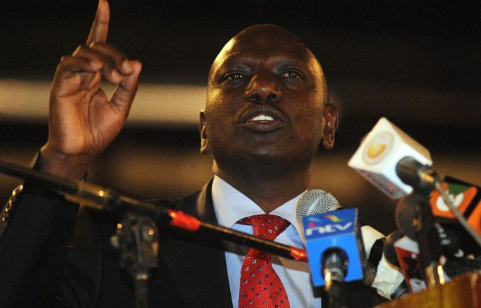 Vice-President William Ruto will be the first senior politician to stand trial for crimes carried out during the violence.