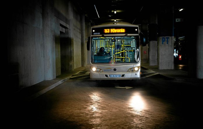 Disgruntled Gautrain bus drivers claim that their former union