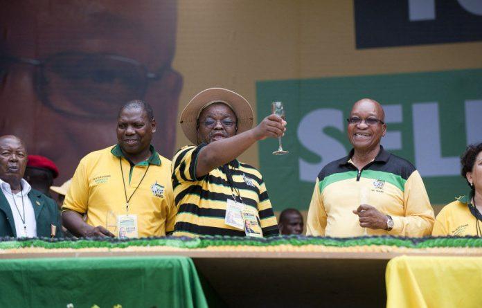 President Jacob Zuma launched the ANC manifesto at the Mbombela stadium in Nelspruit on Saturday.