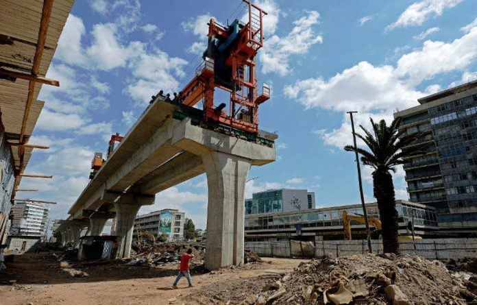 Construction is on the rise in Ethiopia.