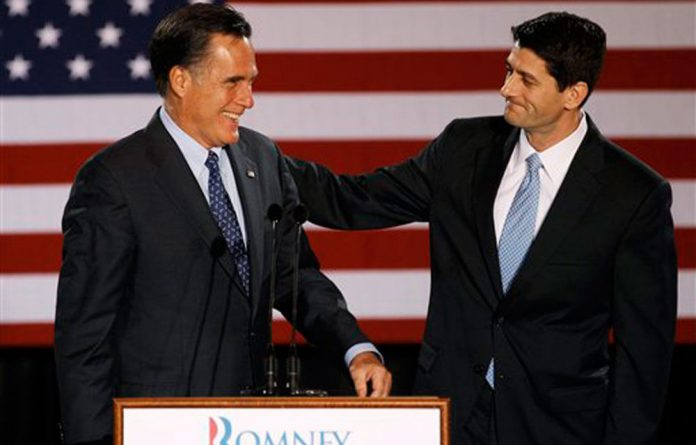 Paul Ryan and Mitt Romney.