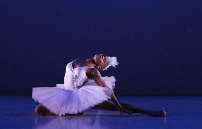New take on a classic: Dada Masilo in her version of Swan Lake
