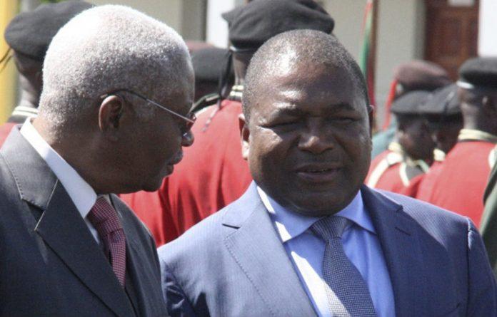 Mozambique President Armando Guebuza