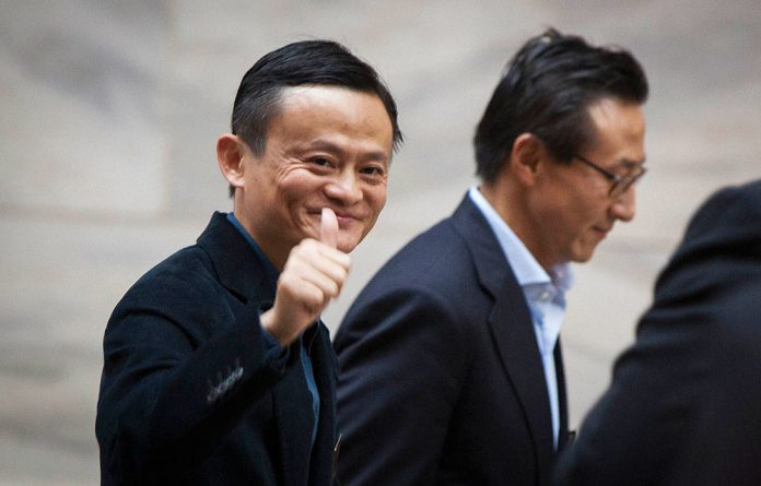 Internet billionaire Jack Ma thumbs his nose at the Chinese state regulators.