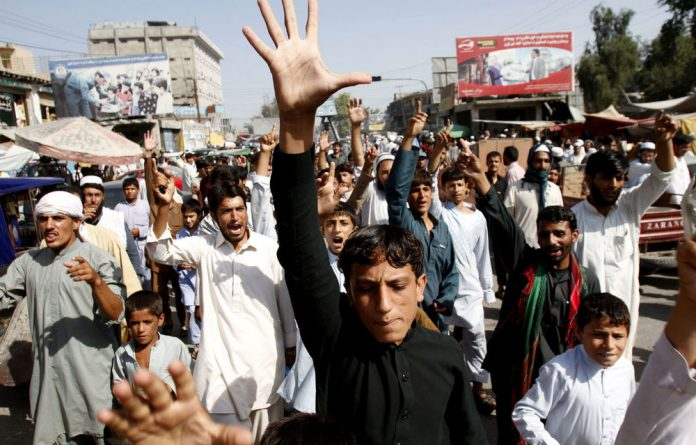 Afghans shout anti-US slogans in Jalalabad