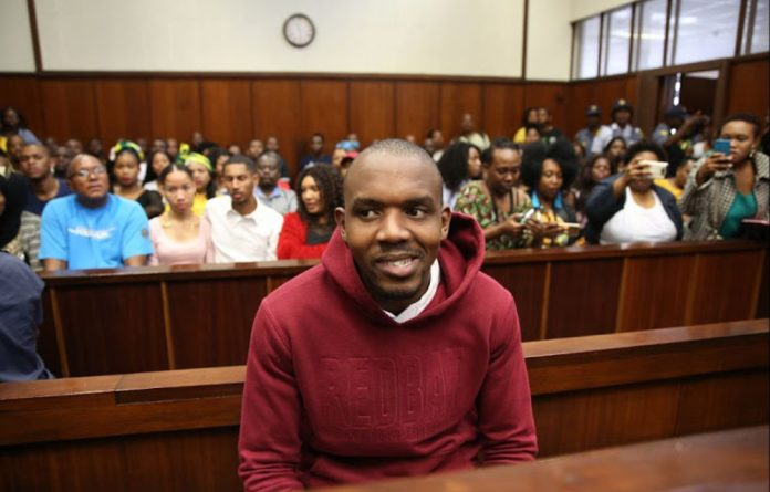 Thabani Mzolo has been charged with murder and the possession of an unlicensed firearm and ammunition.