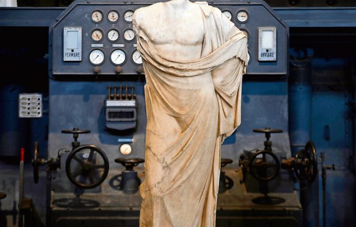 The Centrale Montemartini in Rome features classical and modern artworks.