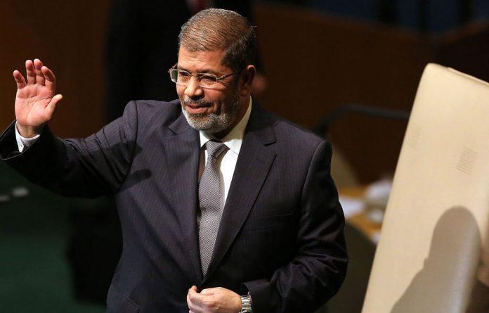 Egypt President Mohamed Morsi.