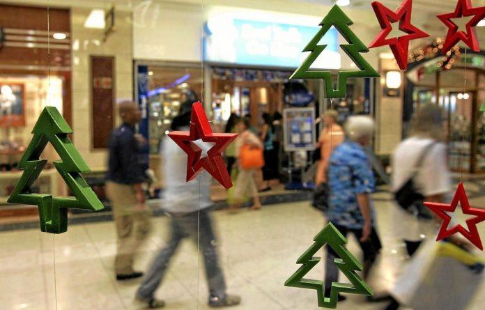 Christmas shoppinh