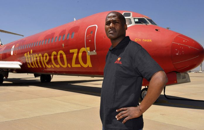 1Time chief executive Blacky Komani says the airline will continue scheduled services.