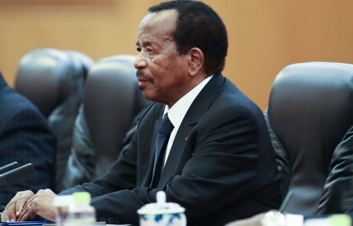 Biya's main challenger has called for the vote to be annulled in seven of the country's 10 regions.