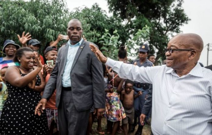 ANC provincial elections head Super Zuma said that onlookers were happy to see former president Jacob Zuma during a campaign walkabout in KwaZulu-Natal.