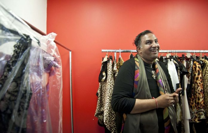 There are two major themes in designer Gavin Rajah's latest