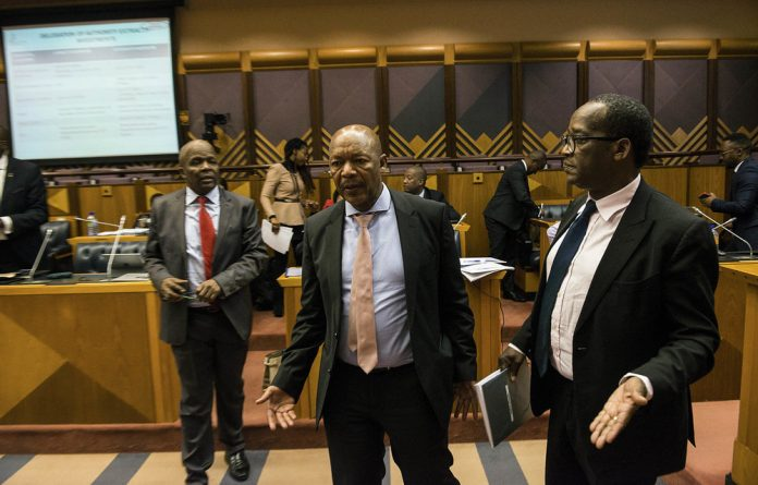 The PIC's Dan Matjila is negotiating a smooth exit from the state-owned entity