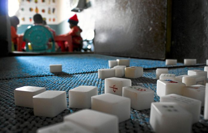 Many children miss out on playing with blocks
