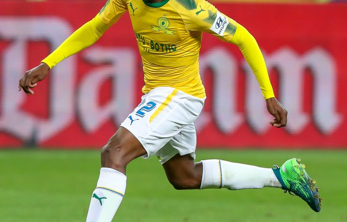 The striker was named the Absa Premiership Player and Player's Player of the Year in 2017/18 and scored 13 goals for Mamelodi Sundowns