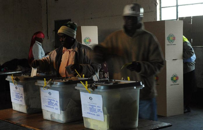 Zimbabwe cast its vote for the presidential election on Wednesday.