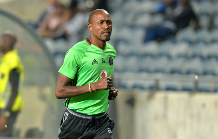Upset: Coach Benson Mhlongo took sabbatical leave after TS Sporting appointed a technical director.