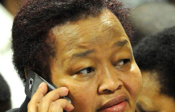 Northern Cape Premier Sylvia Lucas.