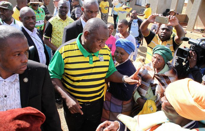 Cyril Ramaphosa will have to convince his supporters to stand behind his preferred candidate for vice-president.