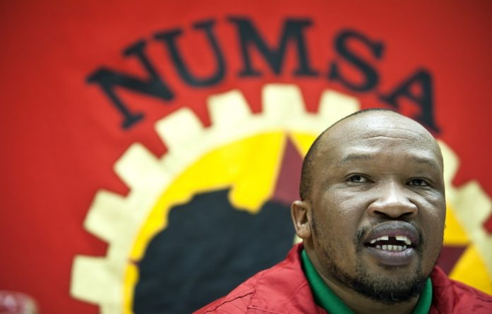 Numsa general secretary Irvin Jim.
