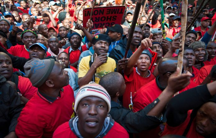 Numsa will continue striking despite accepting a wage offer from employers.