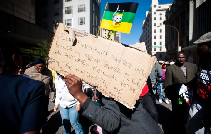 The ANC says it was