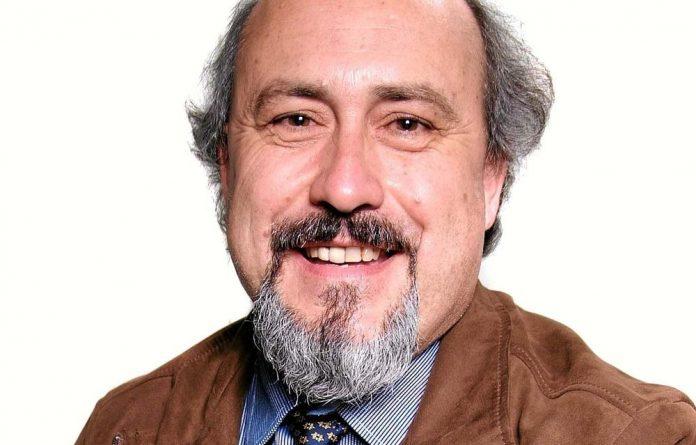 Medicine man: Professor Leon Dicks.