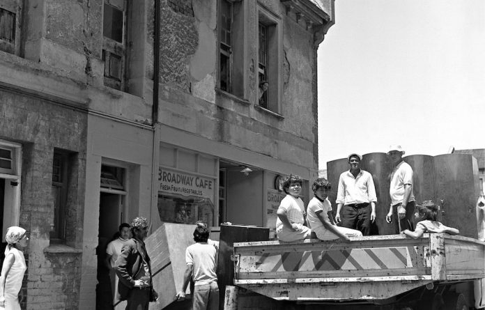 Forced removals from District Six meant residents in the area were displaced and forced to live in and around the Cape Flats.