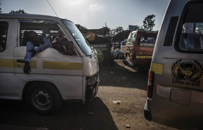 Clean-up: Kenyan police are clamping down on the owners of vehicles used for public transport who don't comply with traffic safety regulations.