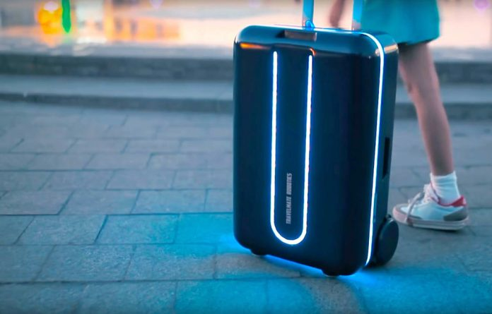 Travelmate designed the device to roll at a pace that matches that of the user