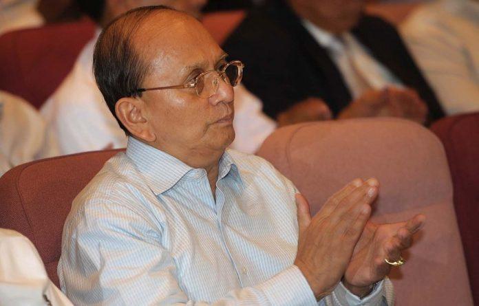 Myanmar President Thein Sein.