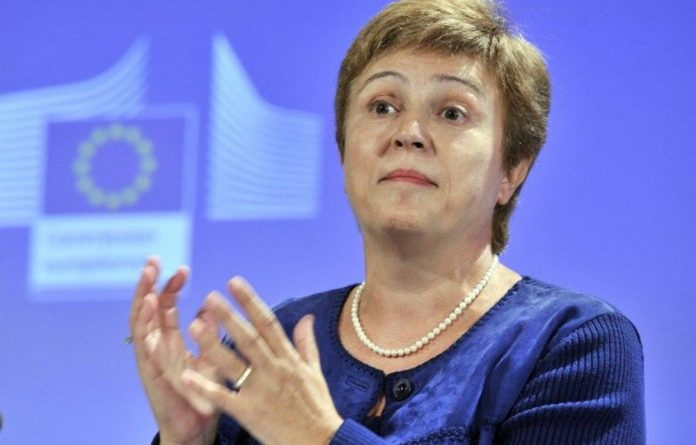 EU Humanitarian Aid Commissioner Kristalina Georgieva has expressed concern over the growing number of displaced Syrians.
